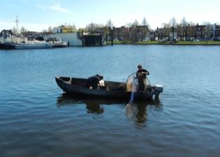 Afbeelding Ecologische risico's in de havens van Den Helder