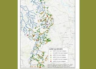 Afbeelding Knelpunten bij de chemische waterkwaliteit in Limburg